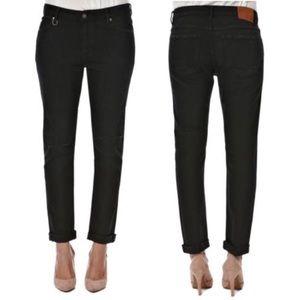 Neuw Sister Ray Slim Slouch Boyfriend Jeans Black